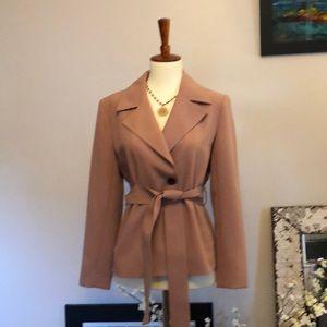 Ann Taylor dusty pink jacket